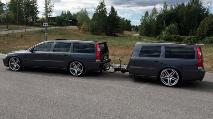 Køpen maar: anderhalve Volvo V70R