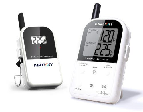 Ivation Long Range Wireless Dual 2 Probe BBQ Smoker Meat Thermometer Set - Monitor your Grill From up to 300 feet away Maverick,http://www.amazon.com/dp/B00ANCXJR6/ref=cm_sw_r_pi_dp_hwzWsb0MBRZSK0D1
