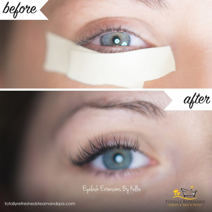 Classic Eyelash Extensions by Kellie!   Fun Fact: Lash Extensions are singl stands of synthetic eyelashes that are curved to replicate a natural eyelash. Totally Refreshed Steam Spa Salon, Red Deer Alberta - Eyelash Extensions