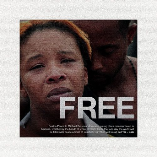 """Listen to #JCole's tribute to #MichaelBrown """"Be Free."""""""