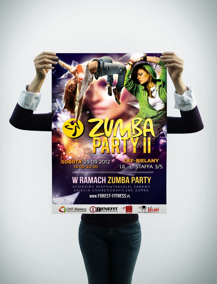 Zumba Party II - Poster