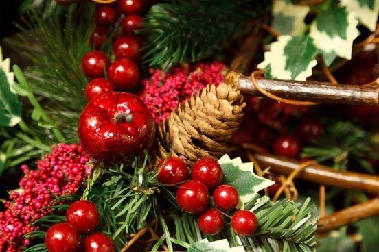 artificial christmas decoration