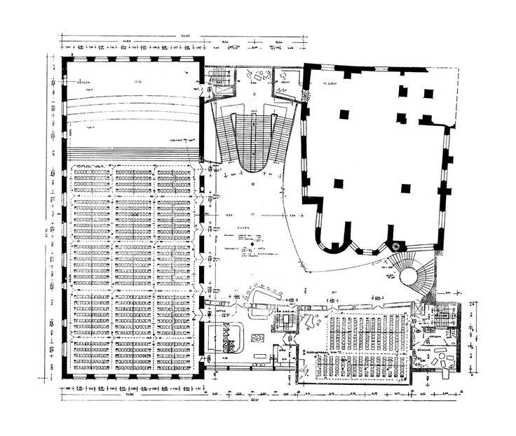 "Gürzenich Köln (reconstruction) Cologne, North Rhine-Westphalia, Germany; 1949-59 Rudolf Schwarz, Josef Bernard, Karl Band, Maria Schwarz ""see map | about the architect | + pictures 1, 2 | + info 1,..."