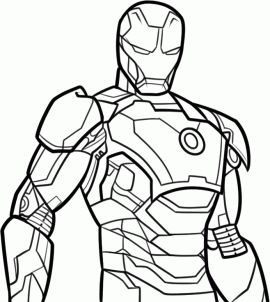 how to draw iron man 3, stepstep, marvel characters