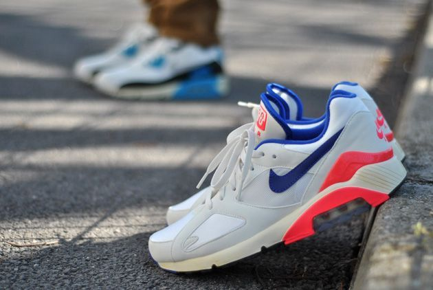 Nike Air Max 180 Ultramarine OG Vintage | Fashion models