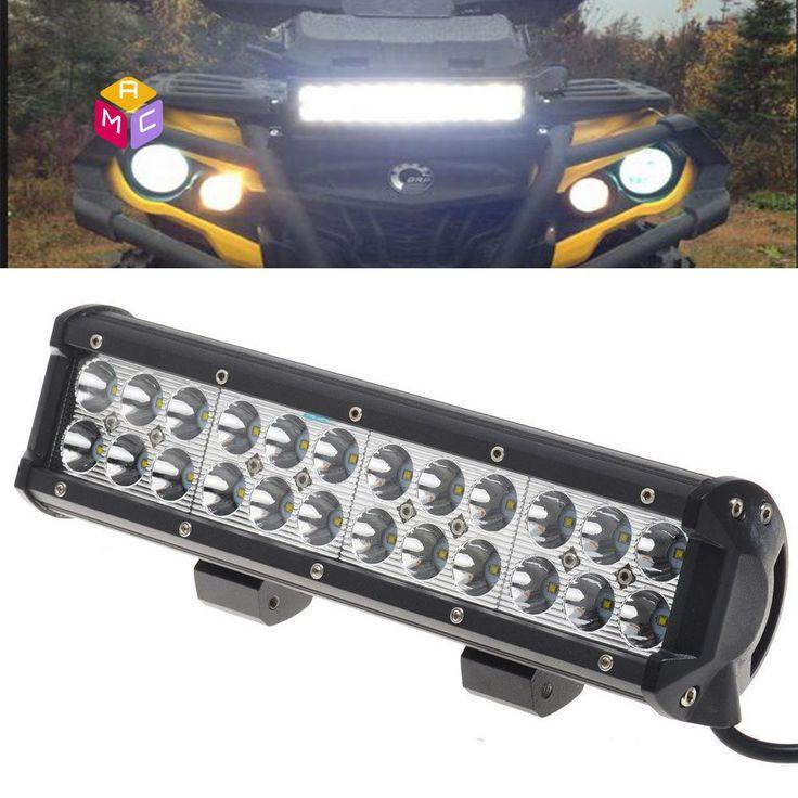 "12"" LED Work Light Bar Polaris XP1000 XP900 800 Ranger RZR ..."