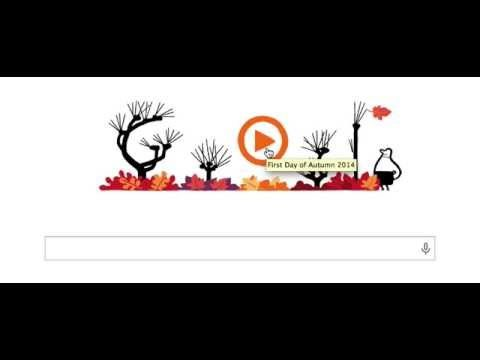 Google Doodle for Autumn (Fall) 2014 in US