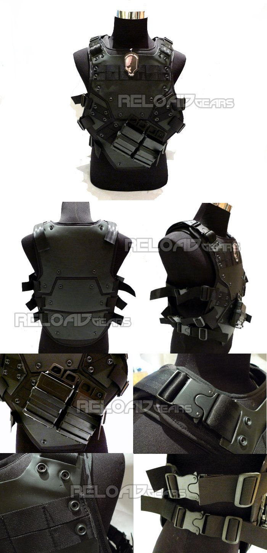 TMC TF3 Transformer 3 Tactical Foam Vest (Black)