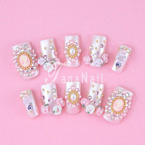 35 best Nail Art images on Pinterest | 3d nails, 3d nail art and Art ...
