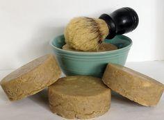 Shaving Soap - Frankincense & Myrrh lisasnaturalherbalcreations.com