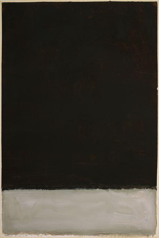 mark rothko - acrylic on paper - untitled (1969)