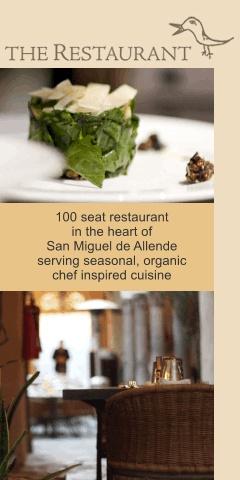 The Restaurant- San Miguel de Allende