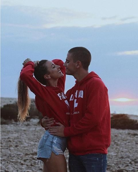 "How cute are these matching couple hoodies for him and her.  Find more cute couple hoodies. Click on ""View More""  #cutecouple #couplepics #couplegoals…"
