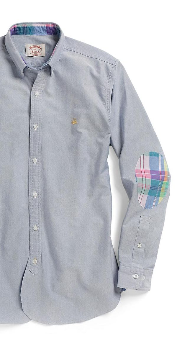 Brooks Brothers Oxford Shirt with Madras Details