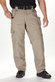 Modeled after 5.11's Tactical Pant, the Taclite Pro Pant offers all the quality and utility you expect from 5.11 apparel.  Like Taclite TDU ripstop tactical pants, the Taclite Pro Pant is crafted from authentic Taclite poly/cotton ripstop fabric for outstanding comfort and performance in hot or humid climates, and features triple stitch reinforcements and extensive bartacking for maximum durability.