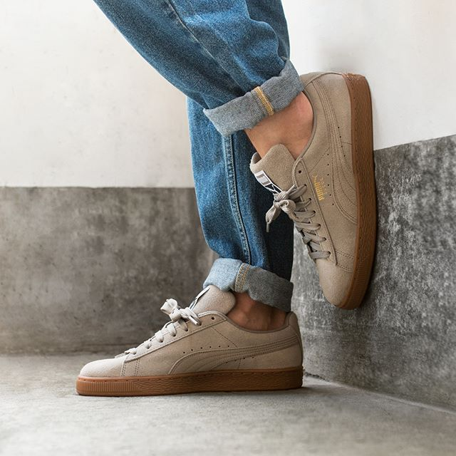 Puma Suede Classic (Elephant Skin Puma Team Gold) in 2019