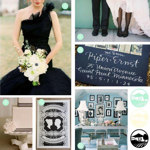 126 best Ivory and Black Wedding Ideas images on Pinterest | Black ...