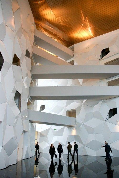 ⇢|| http://archdaily.com/337342/clarion-hotel-congress-trondheim-space-group-architects/ ⇢|| Space Group Architects #bestdesignprojects