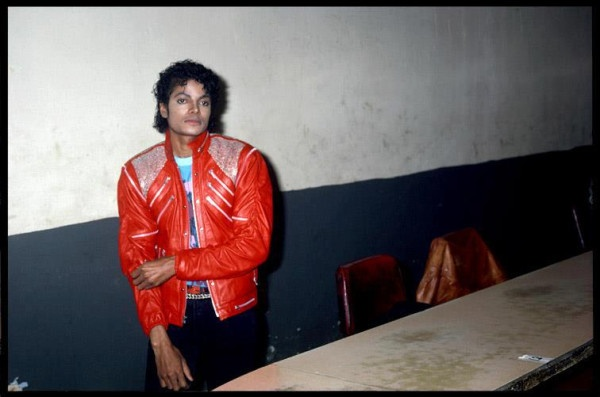 on the set of Beat It
