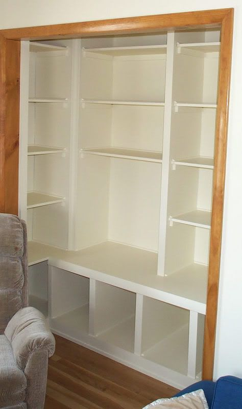 Playroom Closet Shelving - Dad Stays Home - Place for Stay at Home Dads to Share Daddyhood Experiences