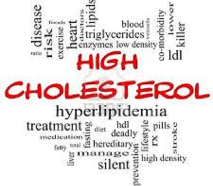 high cholesterol levels