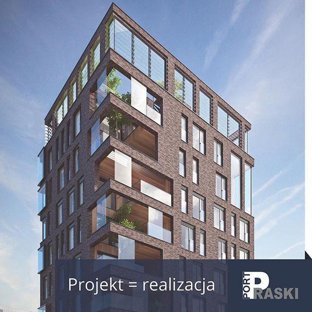Projekt = realizacja. Latarnia – wizualizacja APA Wojciechowski.  #portpraski #apartamenty #mieszkania #latarnia #miastonowejgeneracji #widoki #centrum #warszawa #apartments #flats #warsaw