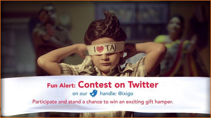 #ContestAlert participate & win BIG! Follow ixigo.com on Twitter -