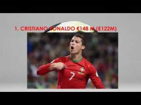 Top 10 Most Richest Soccer Players in 2014