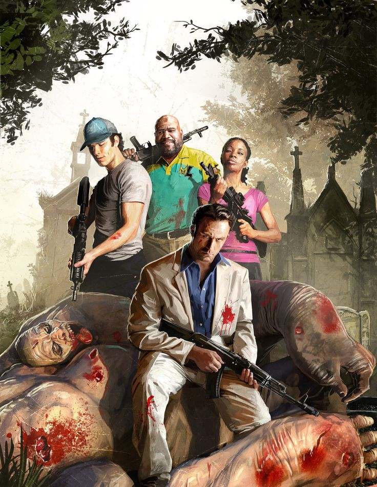 Another Left 4 Dead 2 concept art. I don't know why but I really like this one, more than the others :)