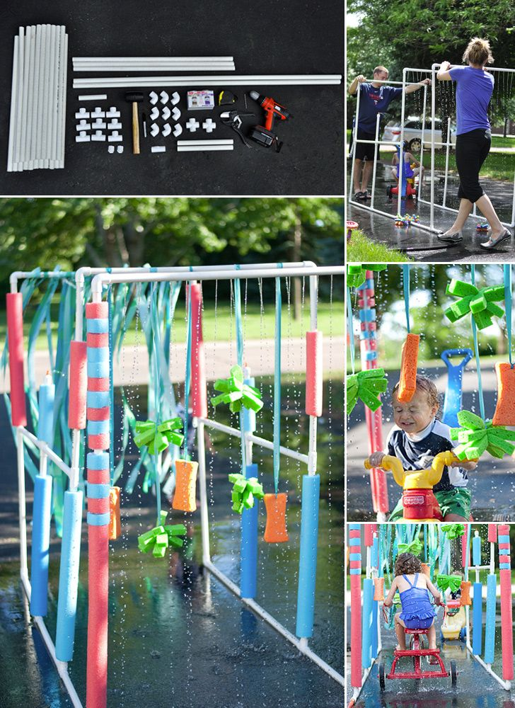 Neat idea for summer time fun! even without a tricycle.