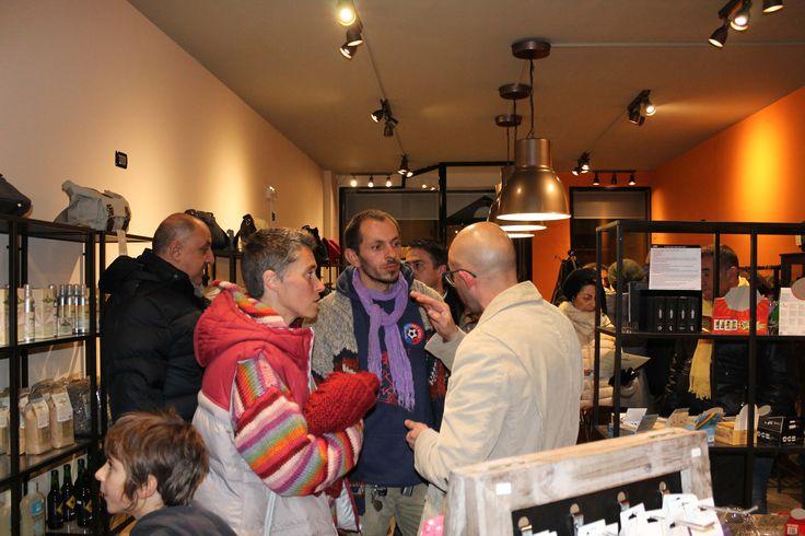 Inaugurazione Bottega della Canapa #Faenza 28-11-2015