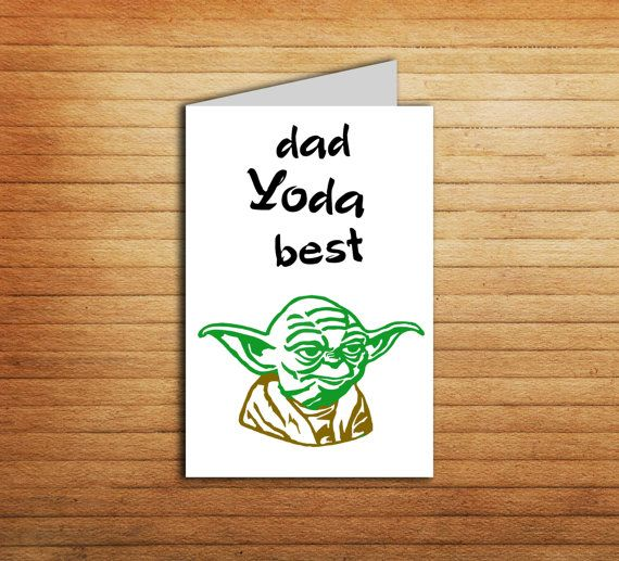 The 25+ best Yoda card ideas on Pinterest Diy fatheru0027s day cards - anniversary printable cards