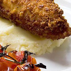 Piersi kurczaka w panierce z Parmezanu
