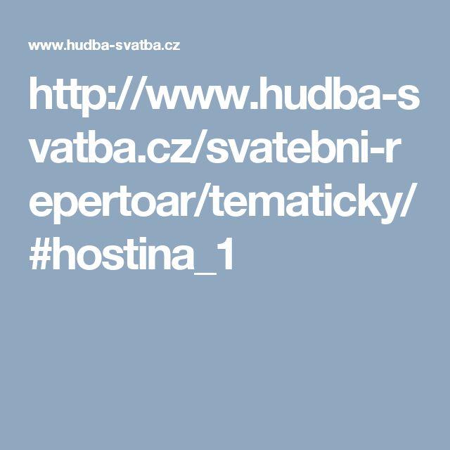 http://www.hudba-svatba.cz/svatebni-repertoar/tematicky/#hostina_1