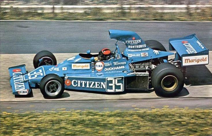 1975 Tony Trimmer, Maki Engineering F101-02 Ford Cosworth