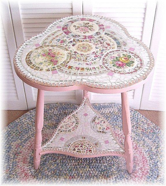 Broken Tile Coffee Table: 22 Best Mosaics Images On Pinterest