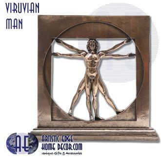 Viruvian Man - by Da Vinci