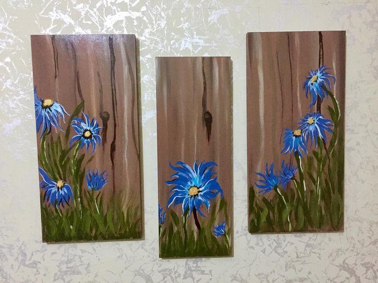 3 parça mdf kalın tahta üzerine akrilik boya ile yapılmış tablo. #art #tablo #tabloları #duvartablosu #duvartablo #resim #duvar #sanat #evimhobi #hobi #evim http://turkrazzi.com/ipost/1522763368325368401/?code=BUh8TcuAspR