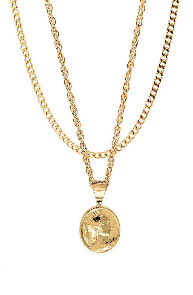 Mister  Gladiator Necklace - Gold