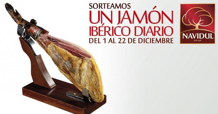 Gana un jamón ibérico Navidul #sorteo #concurso http://sorteosconcursos.es/2015/12/gana-un-jamon-iberico-navidul/