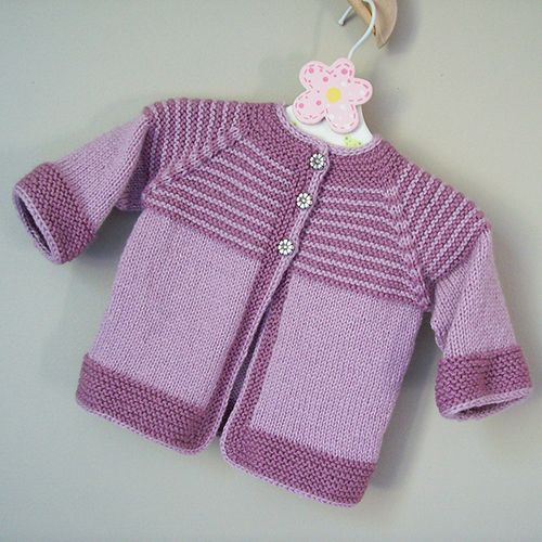 Knitting Pattern Baby Cardigan Free : Best 25+ Knit baby sweaters ideas on Pinterest Knitting children sweater, B...