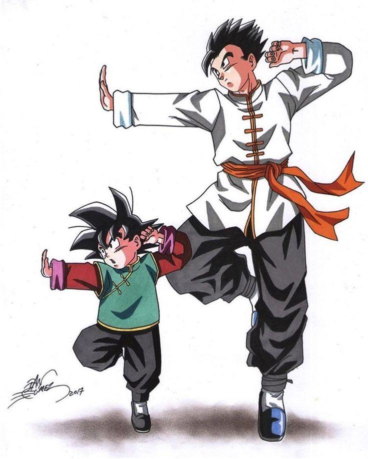 673 Best Goku, Gohan, Goten Images On Pinterest