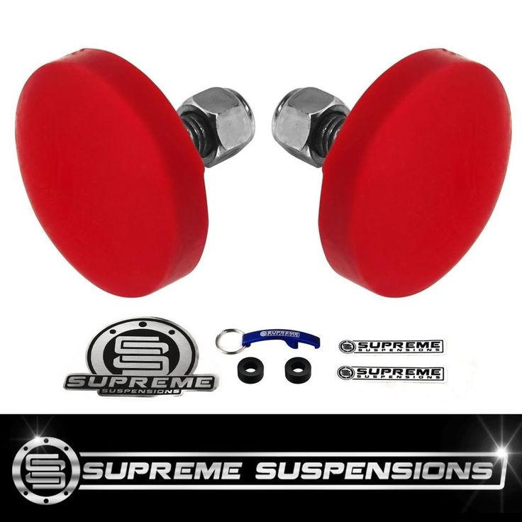 Upper Control Arm Bump Stops For 2005-2016 Nissan Frontier 4X2 4X4 2WD 4WD PRO #SupremeSuspensions