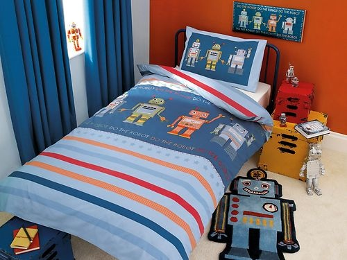 1000 images about shared bedroom on pinterest cotton for Robot bedroom