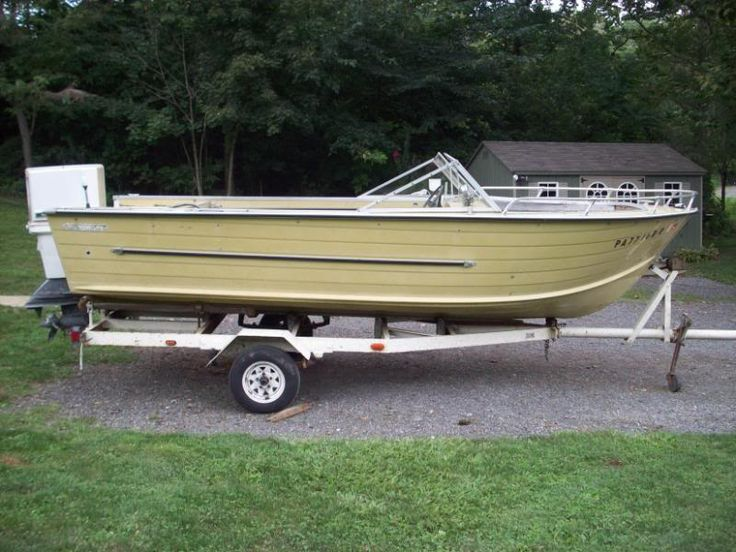 17 best images about vintage starcraft aluminum boats on for Best aluminum fishing boat