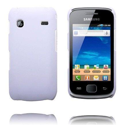 Hard Shell (Valkoinen) Samsung Galaxy Gio Suojakuori