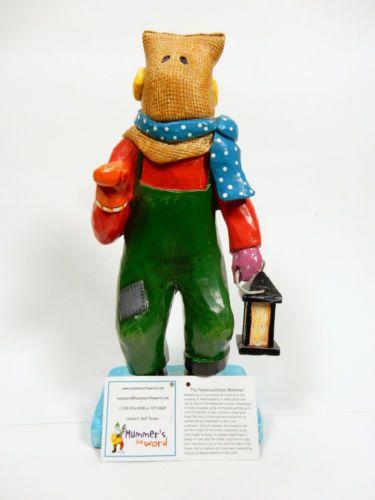 Mummer-Christmas-Figurine-Newfoundland-Mish-from-Merasheen-Limited-Edition-2012