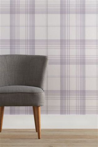 Buy Check Wallpaper From The Next Uk Online Shop Highland