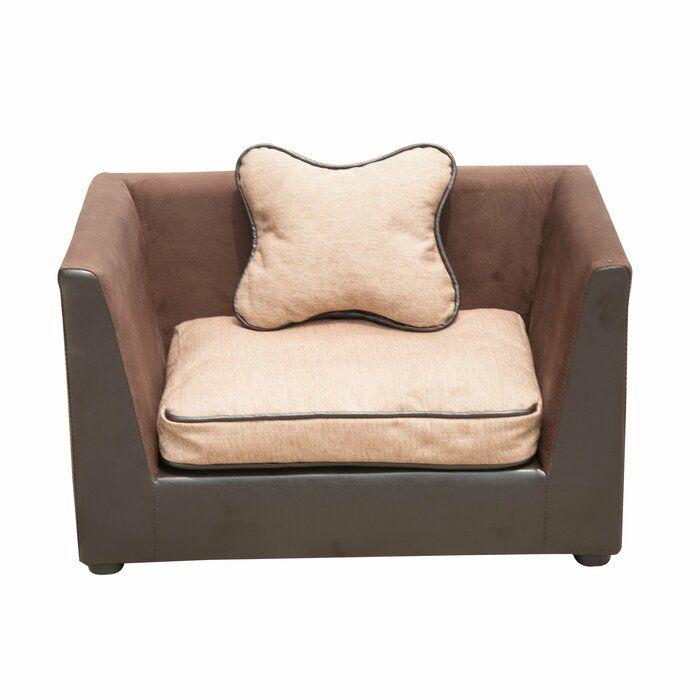 Zaina Dog Sofa In Brown Dog Sofa Cheap Dog Beds Dog Bed