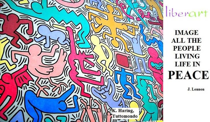#Lennon #Haring